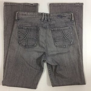 Kut from the Kloth gray stretchy flare jeans 8